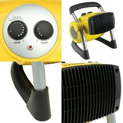Stanley 1500w Portable Electric Ceramic Space Heater Garage