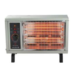 1500W Portable Radiant Electric Heater Automatic Thermostat