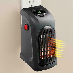 """""""3"""" Handy Wall-Outlet Space Heater, Plug-in Ceramic Mini Hea"""