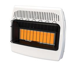 30,000 BTU Space Heater Natural Gas Infrared Vent Free Home