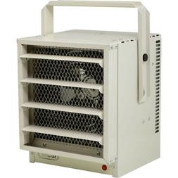 Commercial 5000W Electric Garage Heater, 500 Sq Ft Stainless