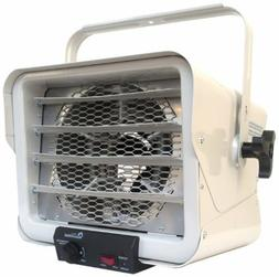 Compact Garage Heater Electric Infrared Forced Air Heat Sour