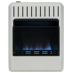 Avenger Dual Fuel Ventless Blue Flame Gas  Heater, Vent Free