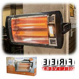 Outdoor Electric Heater Ceiling Mount 1500W Patio Space Elem