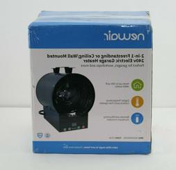 NewAir 2-in-1 Freestanding or Ceiling/Wall Mounted 240v Elec