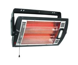 Electric Portable Heater 1500-Watt Infrared Ceiling Wall Mou
