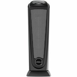 Lasko Electric Tower Space Heater with Remote Control Black,