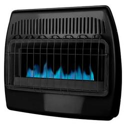 Gas Wall Mount Heater Dual Fuel Liquid Propane or Natural 30
