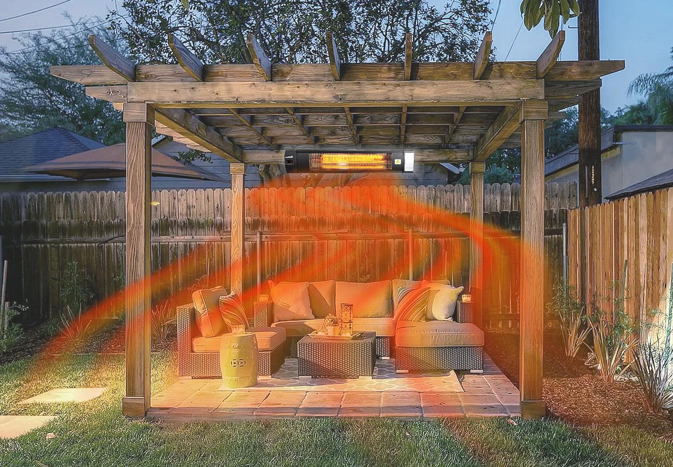 Dr. Infrared Heater 1500W Carbon Infrared Patio