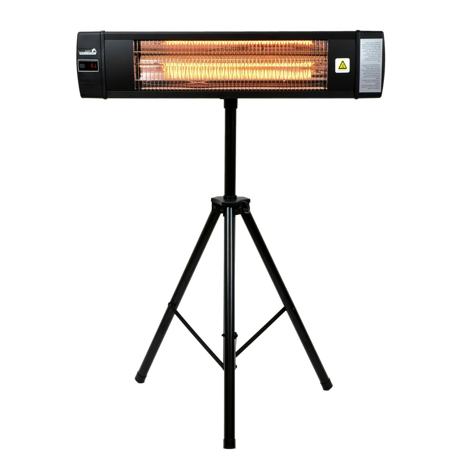 Dr. Infrared Carbon Outdoor Patio Heater Remote