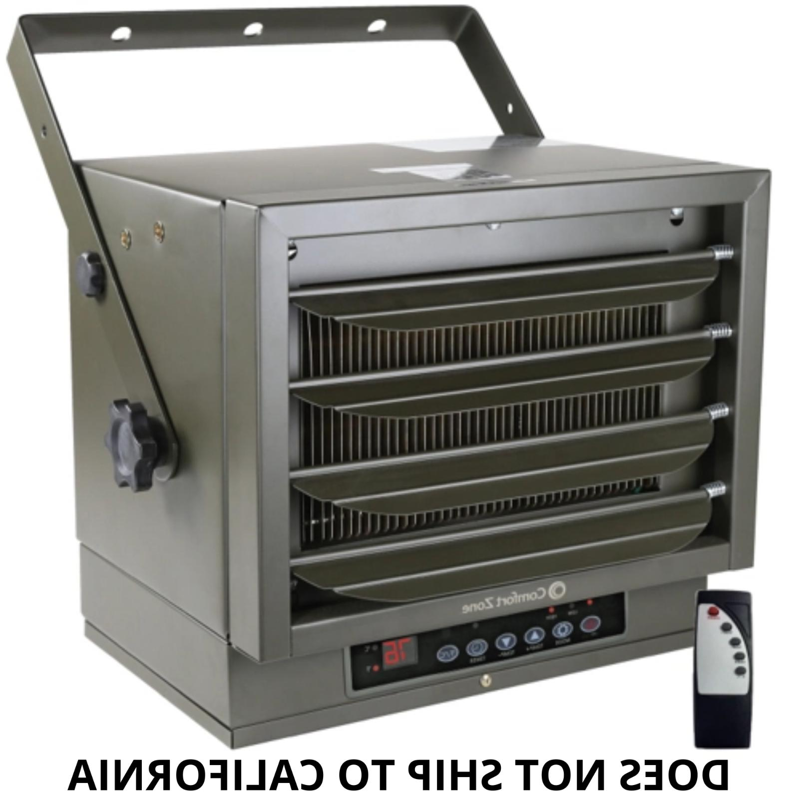 industrial ceiling mount heater remote 7500 watts