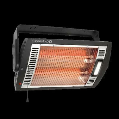 1500-Watt Electric Portable Heater Infrared Ceiling Mount Qu