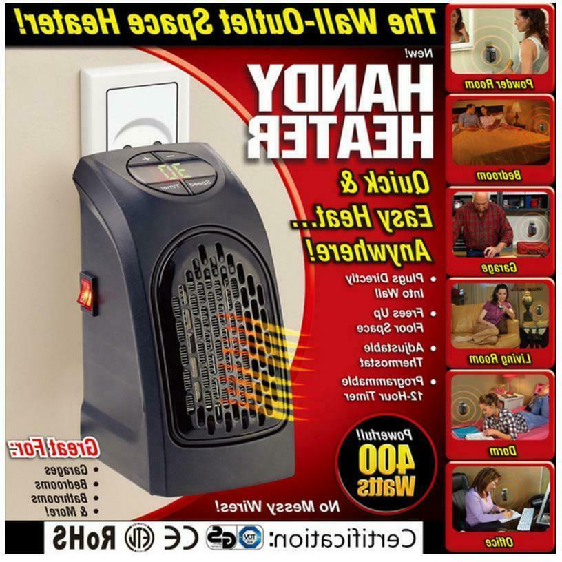 wall outlet space heater 400 watt garage