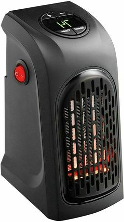 ontel the wall outlet plug space heater