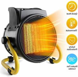 Portable Electric Heater Fan Forced Ceramic with Adjustable
