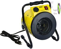 King Psh1215T Portable Shop Heater With Ostat, Yellow