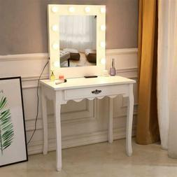 Vanity Table FCH Makeup Mirror With Bulb Warmer Dressing Tab