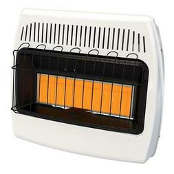 Wall Mount Heater Natural Gas Infrared 30,000 BTU Indoor Hom