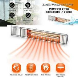Wall Mounted Infrared Heater Home Space Electric Garage Outd